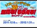 2011 12月キャンペーン